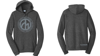 Roundel Trifecta Pullover Hoodie - Charcoal