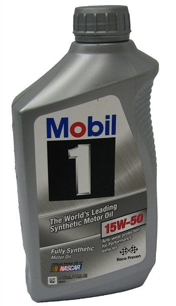 Oil, Engine - 15w-50 Quart - MV10.G3 (550,625)