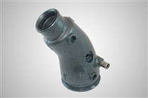 Adapter, Exhaust with Sleeve - Port