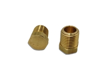 Plug, Brass 1/4