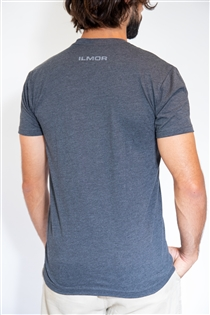 Roundel Trifecta - Charcoal Tee
