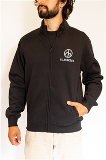 Roundel Logo - Black Full Zip