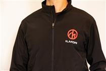 Black Logo Softshell Jacket