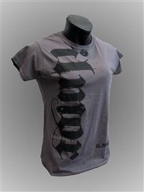 Women's Gray Ilmor Script T-shirt