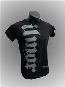 Women's Black Ilmor Script T-shirt